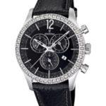 Festina Damen-Armbanduhr Analog Quarz Leder F16590/4 B007PE1XVO
