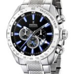 Festina Herren-Armbanduhr XL Analog Edelstahl F16488/3 B003UFFRTG