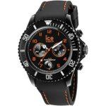 Ice-Watch Herren-Armbanduhr XL Chrono Drift  orange Chronograph Quarz Silikon CH.BOE.B.S.14 B00LBN34GW