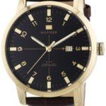 Tommy Hilfiger Watches Tommy Hilfiger Herren-Armbanduhr Casual Sport XL Analog Quarz Leder 1710329 B00BIBH6GQ