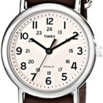 Timex Unisex-Armbanduhr Weekender Slip Through Analog LederT2N893D7 B0085JAKZ8