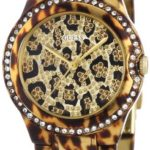 Guess Damen-Armbanduhr Analog Quarz Edelstahl Messing W0084L1 B00ATB24KO