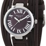 Mike Ellis New York Damen-Armbanduhr XS Brazil Analog Quarz Leder L3185A B00LM97UY2