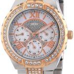 Guess Damen-Armbanduhr XS Analog Quarz Edelstahl W0111L4 B00E5XKVD4