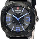 Wenger Herren-Armbanduhr XL Escort Analog Quarz Leder 01.1051.105 B00JQ96HOY