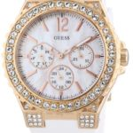 Guess Damen-Armbanduhr Analog Quarz Silikon W16577L1 B0070KJVCQ