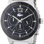 Lacoste Herren-Armbanduhr XL DARWIN Analog Quarz Edelstahl 2010744 B00MNFP5B4