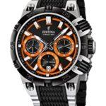 Festina Herren-Armbanduhr XL Chrono Bike 2014 Analog Quarz verschiedene Materialien F16775/6 B00KTFTZ1Q