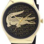 Lacoste Damen-Armbanduhr Analog Quarz Silikon 2000808 B00ENWRPTA