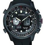 Citizen Herren-Armbanduhr XL Promaster Sky Analog – Digital Quarz Kautschuk JZ1065-05E B00NQ0L5P0