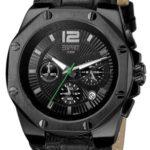 Esprit Herren-Armbanduhr XL Chronograph Leder ES102881003 B004RATIB6