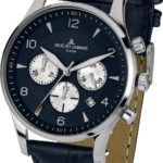 Jacques Lemans Herren-Armbanduhr XL London Chronograph Quarz Leder 1-1654C B00GN9PI4U