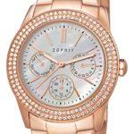 Esprit Damen-Armbanduhr Analog Quarz (One Size, perlmutt) B00TEI2WEQ