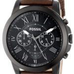 Fossil Herren-Armbanduhr XL Chronograph Quarz Leder FS4885 B00FWX7D00