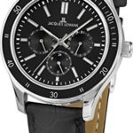 Jacques Lemans Unisex-Armbanduhr Rome Sports Analog Quarz Leder 1-1691ZA B00Q2ZDQ1M