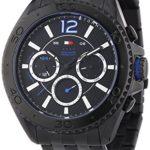 Tommy Hilfiger Watches Herren-Armbanduhr XL GRANT Analog Quarz Edelstahl beschichtet 1791033 B00MLYDA32