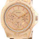 Guess Damen-Armbanduhr XS Analog Quarz Edelstahl W0235L3 B00E5XH2UY