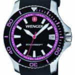 Wenger Damen-Armbanduhr Seaforce Analog Quarz Silikon 01.0621.103 B008OSOVSC