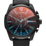Diesel Herren-Armbanduhr XL Chronograph Quarz Leder DZ4323 B00J8OTC4O