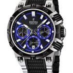 Festina Herren-Armbanduhr XL Chrono Bike 2014 Analog Quarz verschiedene Materialien F16775/5 B00KTFZ68W