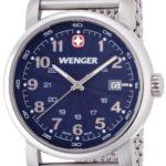 Wenger Herren-Armbanduhr XL Urban Classic Analog Quarz Edelstahl 01.1041.107 B00FUA3M46