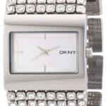 DKNY Damen-Armbanduhr Analog Quarz Edelstahl NY4661 B002IVTDOI