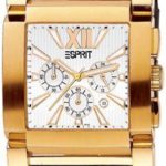 Esprit Herrenarmbanduhr GALAXY GOLD-BROWN ES101011005 B0038KY78A