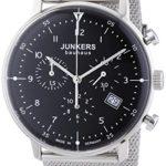 Junkers Herren-Armbanduhr XL Bauhaus Chronograph Quarz Edelstahl 6086M2 B00IHYU5YW