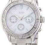 Hugo Boss Damen-Armbanduhr Chronograph Quarz Edelstahl 1502339 B00CBWIK6G