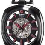 Detomaso Herren-Armbanduhr TASCA Skeleton Taschenuhr XXL Classic Analog Handaufzug DT2059-A B00RBO11VA