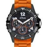 s.Oliver Unisex-Armbanduhr Big Size Chronograph Quarz SO-2326-PC B005N82APM