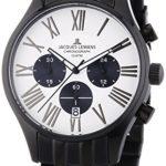 Jacques Lemans Herren-Armbanduhr XL Capri Chronograph Quarz Edelstahl beschichtet 1-1342B B00GUJRPKS