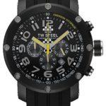 TW Steel Sonder-Edition Herren-Armbanduhr XL Grandeur Tech Chronograph Silikon TW-610 B00523UB4A