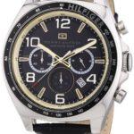 Tommy Hilfiger Watches Tommy Hilfiger Herren-Armbanduhr City Classic XL Analog Quarz Leder 1790936 B00ENWSDQY
