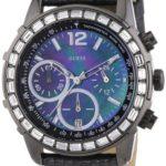 Guess Damen-Armbanduhr Lady B Analog Quarz Leder W0017L3 B009EU9V52