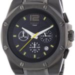 Esprit Herren-Armbanduhr Clear Octo Antracite Chronograph Quarz Edelstahl ES102881007 B00BU07HV4