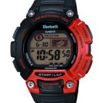 Casio Unisex-Armbanduhr XL Digital Quarz Resin STB-1000-4EF Bluetooth-Sportuhr B00IS52TNA