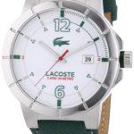 Lacoste Herren-Armbanduhr XL Darwin Analog Quarz Leder 2010726 B00I5PKE4O