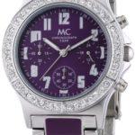 MC Timetrend Damen-Armbanduhr Chronograph Quarz Metallband 50110 B004JHY3T4