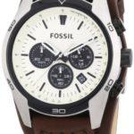 Fossil Coachman Herren Armbanduhr Sport Chronograph Leder braun CH2890 B00E0TM2GC
