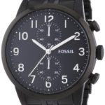 Fossil Herren-Armbanduhr XL Chronograph Quarz Edelstahl FS4877 B00J6ZF5BE