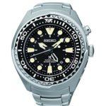 Seiko Herren-Armbanduhr XL Kinetic Diver Chronograph Quarz Edelstahl SUN019P1 B00MCB9CJK