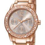 Esprit Damen-Armbanduhr Analog Quarz (One Size, silber) B00TEIQ29M