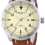 Mike Ellis New York Herren-Armbanduhr XL Analog Quarz 17986B/1 B00H8VGL8E