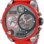 Diesel Herren-Armbanduhr XL Analog – Digital Quarz Plastik DZ7279 B00BD0EIE0