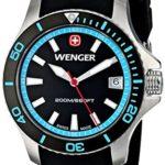 Wenger Damen-Armbanduhr SEAFORCE Analog Quarz Kautschuk 01.0621.105 B00JQG811O