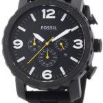 Fossil Herren-Armbanduhr XL Chronograph Quarz Silikon JR1425 B00BCYL02U
