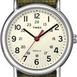Timex Classic Unisex-Armbanduhr Weekender Analog Nylon T2N651PF B004VR9HP2