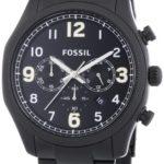 Fossil Herren-Armbanduhr XL Foreman Chronograph Quarz Edelstahl beschichtet FS4864 B00IR9SZDK