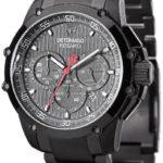 Detomaso Herren-Armbanduhr XL PESARO Dark Grey/Grey Chronograph Quarz Edelstahl DT1042-E B00H46R51U